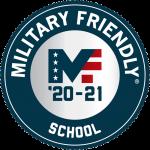 Military Friendly School, '20, '21
