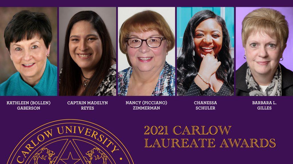 2021 Carlow Laureate Award recipients